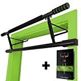 "MAGNOOS Pull-Up-Bar ""Matador"" - The Original - Premium Chin-Up Bar Doorway - No Screws, No Installation Needed - Perfect for Fitness at Home, Indoor - higher in the Doorframe more Range of Motion Strength Training Equipment, Boxing Training, No Equipment Workout, Chin Up Station, Dip Station, Iron Gym, Fitness Workouts, At Home Workouts, Barre Traction"