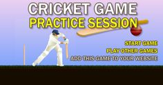 play this most interesting Cricket game  #flashgamenation #sportsgame #cricketgame