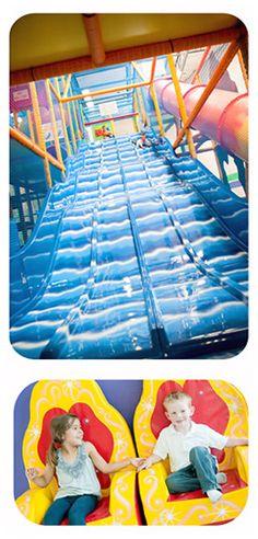 Indoor playground with date night option