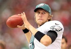 I AM a Philadelphia Eagles fan, and I barely understand football, but he's the reason why I watch the Eagles<3 I'm gonna miss this in 2014 :'(