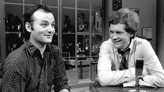 Bill Murray was the first guest on Letterman's debut in 1982.