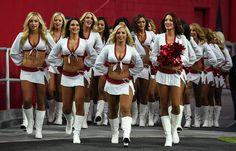 Arizona Cardinals : NFL cheerleaders during 2016 season