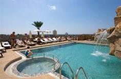 Roof top pool at hotel Marieta Palace Nessebar