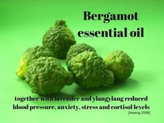 The wonderful combination of bergamot, lavender and ylangylang essential oils have been found to lower high blood pressure and reduce anxiety.