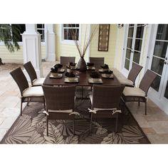 Hospitality Rattan Grenada 9 Piece Dining Set