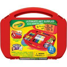 Ultimate Art Supplies & Easel