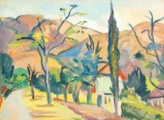 View BARBERTON By Irma Stern; gouache on paper; Access more artwork lots and estimated & realized auction prices on MutualArt. South African Artists, Wow Art, Gouache, Landscape, History, Artwork, Prints, Image, Harlem Renaissance