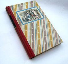 Vintage Alice in Wonderland book as an e-reader case (fits Kindle 3, Kobo, Sony Readers) $34