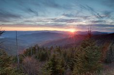 As the highest point in the Great Smoky Mountains National Park, Clingman's Dome offers over 100 miles of expanded views. Open April 1st-November 30th. climb to the top of the 45-foot observation tower to take it all in.