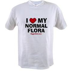 I Love My Normal Flora #medical #humor gifts $16.97
