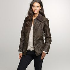 Barbour Bedale jacket. from j crew.
