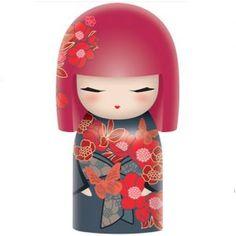 Kimmidoll Chou (6cm) Momiji Doll, Kokeshi Dolls, Wooden Pegs, Wooden Dolls, Lulu Shop, Japanese Art, Japanese Doll, Clothespin Dolls, Hello Dolly