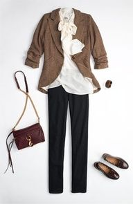 perfect preppy teacher outfit! #Home