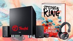 Bucherscheinung: Stephen Kings »Mind Control« - 22 Gewinnchancen – 1x…