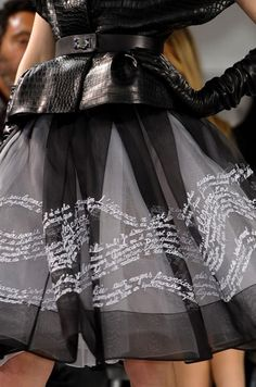 Wear your words like a coat of armor.  DIOR HAUTE COUTURE SPRING 2012 by oanagm