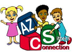 AZ Sitters Connection. Looking for a qualified,  reliable occasional babysitter or part time or full time nanny? Check us out