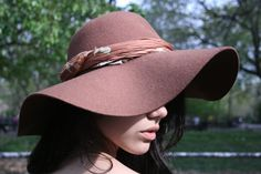 @Janet Russell-Snider Apparel Wool Floppy Hat