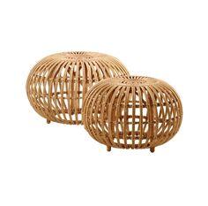 Franco Albini Ottoman designed by Franco Albini, made by Sika Design