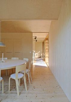 Tham & Videgård designed House Husarö, a modern metal-clad home on an island in an outer Stockholm archipelago. Interior Exterior, Interior Architecture, Interior Design, Natur House, Clad Home, Stockholm Archipelago, Metal Facade, Journal Du Design, Wooden Cottage