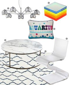 Home Decor Inspired By Our Favorite Cities inspired by Miami featuring nuLOOM's Latimer Shaggy rug!