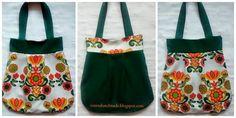 torba, szycie torby, bag, kolorowa torba, motyw kwiatowy, handmade, rozeta