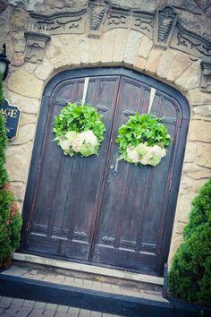 Church Doors - love this for a wedding