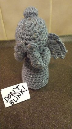 Ravelry: Weeping Angel pattern by Irene McCormick