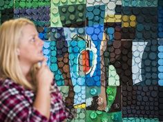 Art addresses issue of prescription drug abuse Mental Health Research, Mental Health Art, Therapy Ideas, Art Therapy, Ivy Tech, Pill Bottles, Art Lessons, Tools