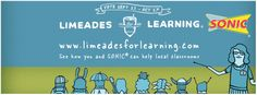 Visit http://limeadesforlearning.com and vote from 9/23-10/27  to help @Sonic Drive-In help schools with Limeades for Learning #SONICLFL