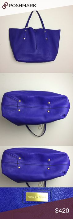 NWT Annabel Ingall large Isabella Toto in Indigo NWT Annabel Ingall large Isabella Toto in Indigo Annabel Ingall Bags