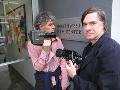 Christopher Doyle (left) and Gus Vant Sant