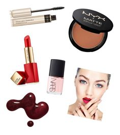 """Sin título #119"" by loveclo on Polyvore featuring Belleza, Estée Lauder, NARS Cosmetics, By Terry y NYX"