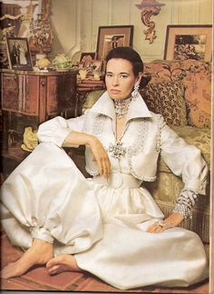 GLORIA VANDERBILT IN T&C'S FEBRUARY 1969 ISSUE