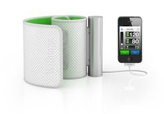 Turn your iPhone, iPad or iPod touch in a blood pressure tracking device. The Withings Blood Pressure Monitor measure, calculate, graph your tracking curves and ease the sharing with your doctor.
