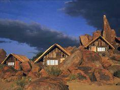 Canon Lodge, Fish River Canyon, Namibia bungalow-fs