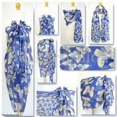 GLITTER Rose Flower Floral Maxi Sarong//Scarf//Beach Cover-Up//Wrap//Kaftan Pareo