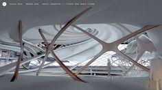 Studio Zaha HADID Vienna /// Semiological Project / University Campus /// (c) Nicola BECK / Bogdan ZAHA / Daniel ZAKHARYAN