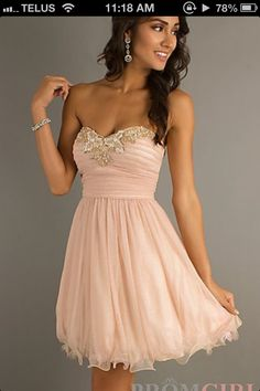 Love this escort dress! Simple, yet elegant