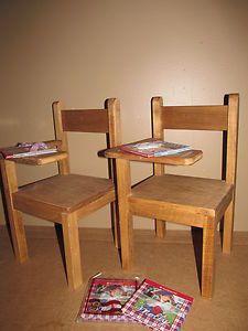 "Wood Doll Furniture School Desk Fits 18"" American Girl Gotz Madame Alexander   eBay"