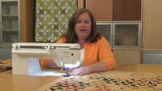 We demonstrate an easy way to add binding to your quilt without having to cut binding on the bias!