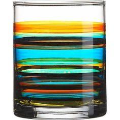 Brite double old-fashioned glass - CB2