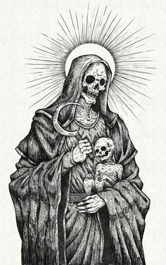 Black and white illustrations by Jan Pimping (Dark Providence) - Bleaq - Jan Pimping, also known as Dark Providence, is a graphic designer and illustrator from Australia wh - Dark Art Illustrations, Dark Art Drawings, Arte Horror, Horror Art, Illustrator, Dark Art Tattoo, Death Art, Satanic Art, Dark Artwork