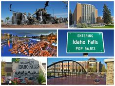 """See 73 photos and 8 tips from 2014 visitors to Idaho Falls, ID. """"Idaho Falls is a fun place to go. Fun Places To Go, Great Places, Places Ive Been, Idaho Falls, Small Towns, Goal, Explore, Travel, Viajes"""