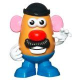Mr & Mrs Potato Head - they revamped him! He is thinner, and now has legs.... after all these years...