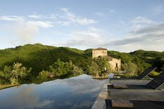 Infinity Pool, Terrace, Views, Torre Moravola Boutique Hotel in Montone, Italy