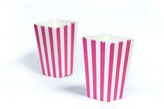 moushii Mini Popcorn Box Pink Stripes    www.moushii.com