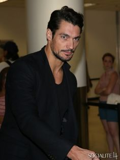David Gandy Arrives In Los Angeles | Socialite Life