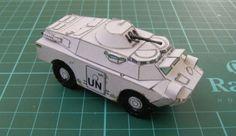 BM-2T Stalker Armoured Vehicle Paper Model Free Download