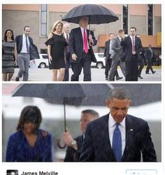 The Fundamental Difference Between Barack Obama and Donald Trump in Two Photos - http://viralfeels.com/the-fundamental-difference-between-barack-obama-and-donald-trump-in-two-photos/