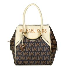 Michael Kors Logo Large Coffee Totes Outlet